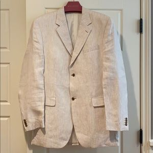 Linen striped Calvin Klein sport coat